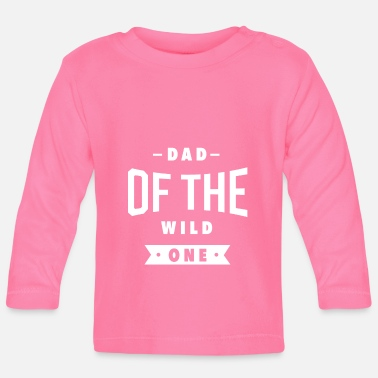 Xmas Mens Dad of the Wild One Shirt Plaid Lumberjack - Baby Longsleeve Shirt