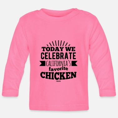 Vogel National Chicken Boy Day Kalifornien - Baby Langarmshirt