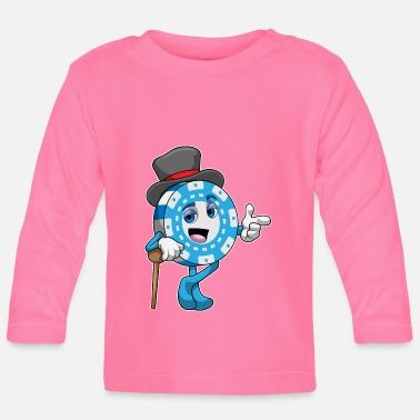 Pokerchips Pokern mit Pokerchips - Baby Langarmshirt