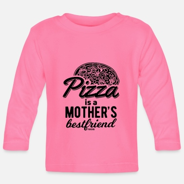 Friends Of Italy Pizza Mama Italy friend saying - Baby Longsleeve Shirt