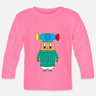 Light Baby Hammer Egg - Baby Longsleeve Shirt