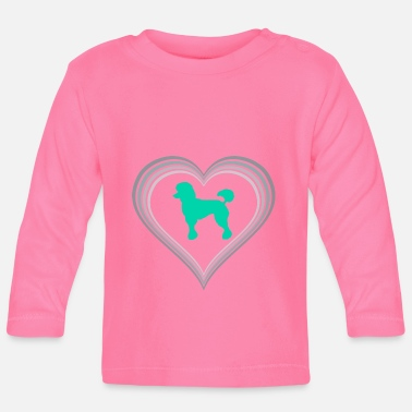 Poodle poodle - Baby Long Sleeve T-Shirt