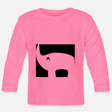Inverted rhino - Baby Longsleeve Shirt