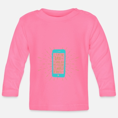 Mobile Phone Generation mobile phone - Baby Longsleeve Shirt