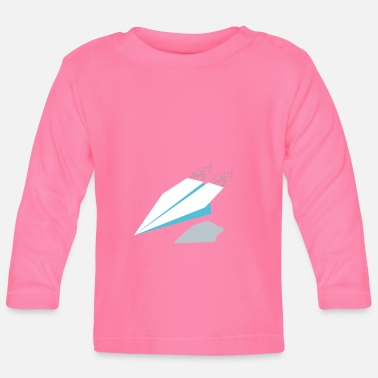 Paper Paper plane / paper plane - Baby Longsleeve Shirt