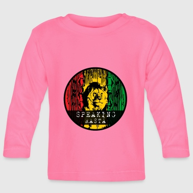 Rasta Reggae lion - Baby Long Sleeve T-Shirt