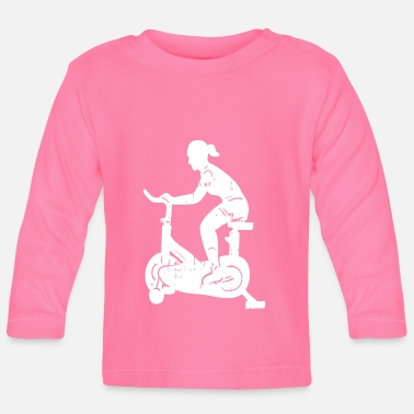 Biking Biking bike - Baby Longsleeve Shirt