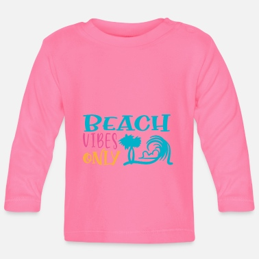 Portugal Beach Vibes Only Sun Beach Ocean - T-shirt manches longues Bébé
