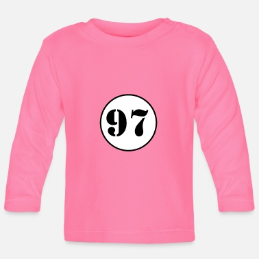 Production Year NUMBER 97 / ninety seven - Baby Longsleeve Shirt