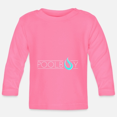 Pool Poolboy Pool Pool 4 - T-shirt manches longues Bébé