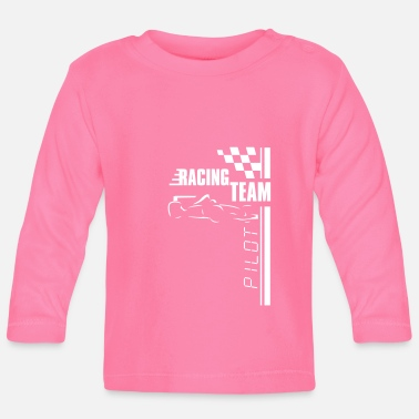 Sport Automobile Racing Team - T-shirt manches longues Bébé