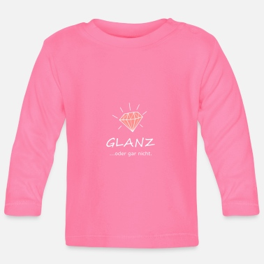 Glamour Glanzend of niet, diamant, glamour - T-shirt