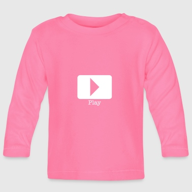 play record - Baby Long Sleeve T-Shirt