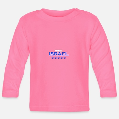 Stay With Israel Israel since 1948 gift to Jews Star of David - Baby Longsleeve Shirt