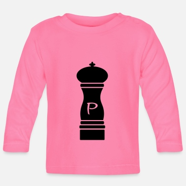 Pepper Pepper - pepper mill - pepper mill - Baby Longsleeve Shirt
