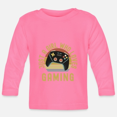 Pause Just A Girl Who Loves Gaming - Baby Longsleeve Shirt
