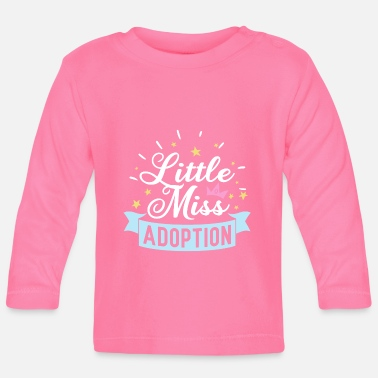 Adoption Little Miss Adoption - Baby Langarmshirt