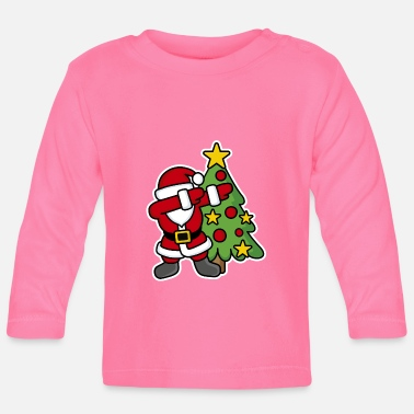 Christmas Dabbin' around the Christmas tree - T-shirt