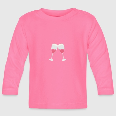 Champagne glasses - Baby Long Sleeve T-Shirt