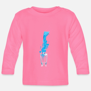 Motion Liquid in motion - Baby Long Sleeve T-Shirt
