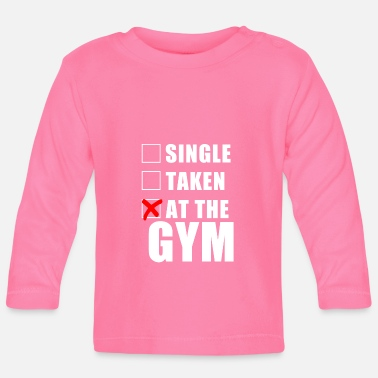 Squat At The Gym - Baby Longsleeve Shirt