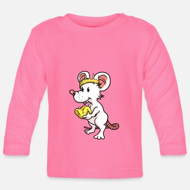Rodent Rodent mouse rodents king - Baby Longsleeve Shirt