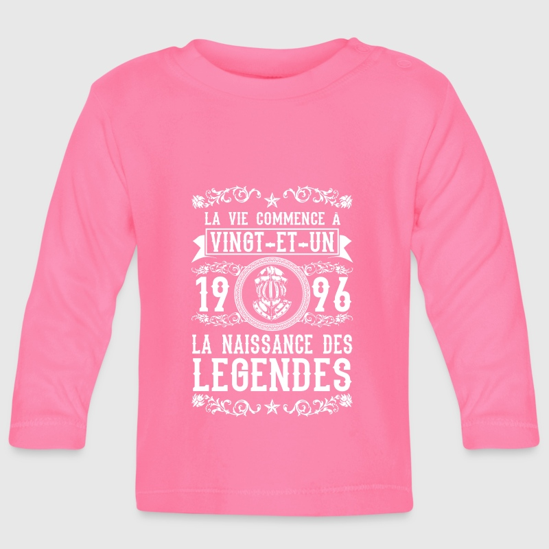 1996 - 21 ans - Légendes - 2017 - Baby Long Sleeve T-Shirt