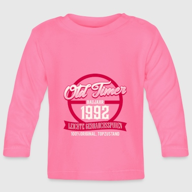 Production Year Vintage - year of production 1992 - top condition - DE - Baby Long Sleeve T-Shirt