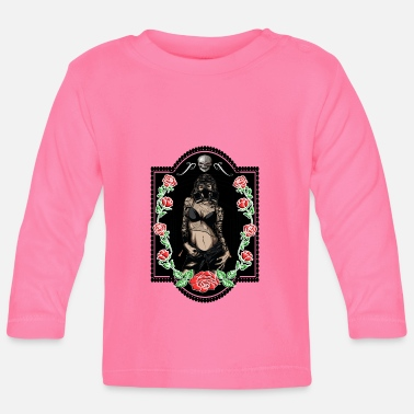 Trend Underwear Power Woman Feminism Gas Mask Rose Sexy Pride - Baby Longsleeve Shirt