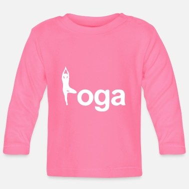 India Idea regalo Yoga Tree Pose Yogi - Maglietta a manica lunga per bambini