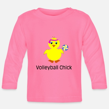 Volley Volleyball Poussin - T-shirt manches longues Bébé