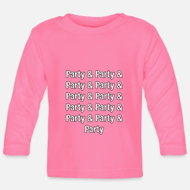 Party Party Party Party - Baby Langarmshirt