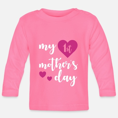 Day 1st Mothers day - Baby Langarmshirt