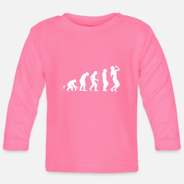 Gesang Gesang Evolution Fun Shirt - Baby Langarmshirt