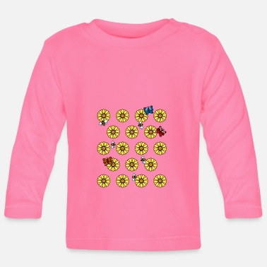 Buttercup Sunflower buttercups - Baby Longsleeve Shirt
