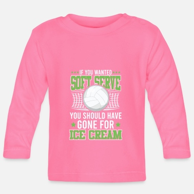 Balle Volleyball cool disant - T-shirt manches longues Bébé