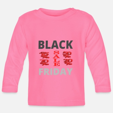 Rebaja BLACK FRIDAY, Rebajas, Regalo, Compras - Camiseta manga larga bebé