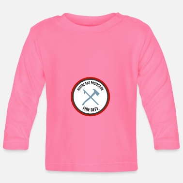 Protection Rescue and Protection - Save and Protect - Baby Longsleeve Shirt