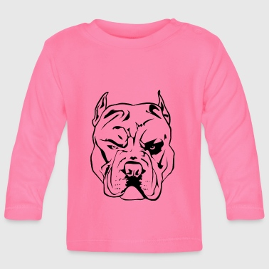 agressieve Pitbull - T-shirt