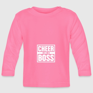 Cheer like Boss - Cheerleading - Baby Langarmshirt