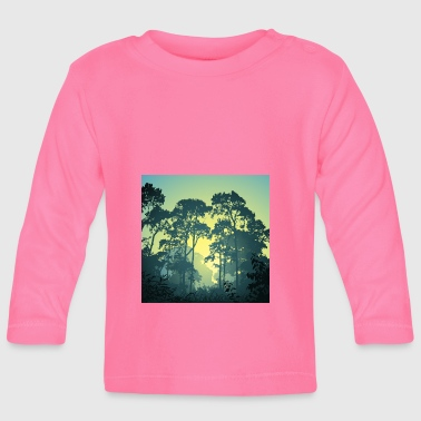 bosque - Camiseta manga larga bebé