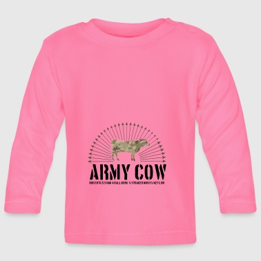 Army cow - Baby Long Sleeve T-Shirt