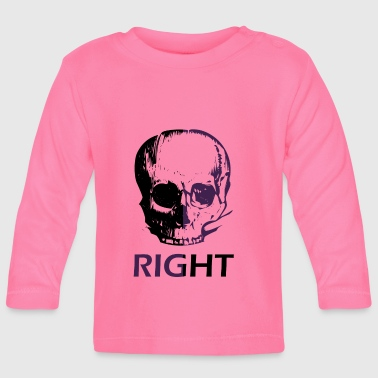 right - Baby Long Sleeve T-Shirt