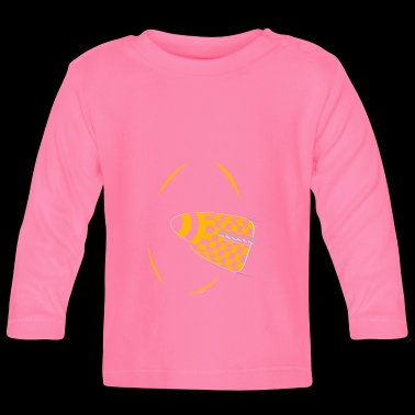 P51 NOSE BL_1711_MPLB - Baby Long Sleeve T-Shirt