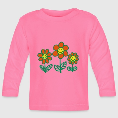 Flower Power by Cheerful Madness!! - Baby Long Sleeve T-Shirt