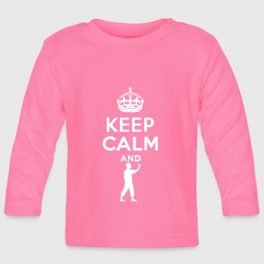 Keep Calm - Dart - Baby Long Sleeve T-Shirt