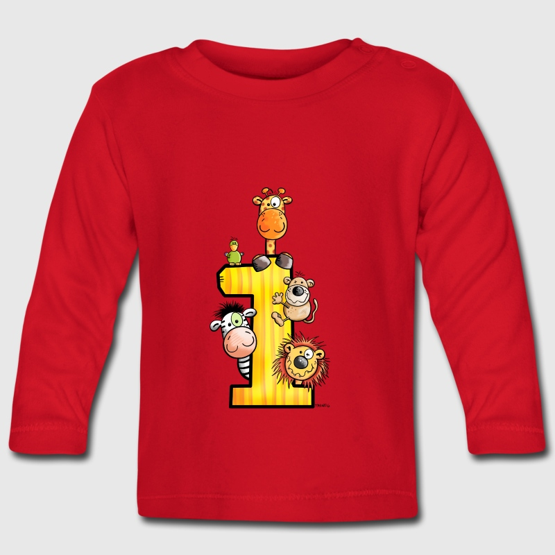 First Birthday - Baby Long Sleeve T-Shirt