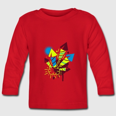 A firework  - Baby Long Sleeve T-Shirt