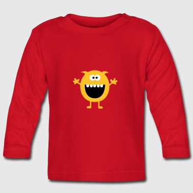 Funny Cute Monsters (Free Hugs) - Baby Long Sleeve T-Shirt