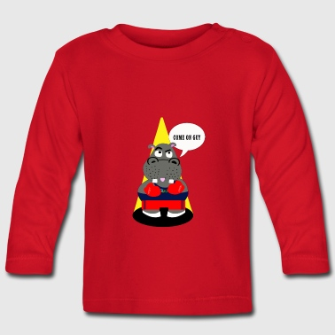 hippo - Baby Long Sleeve T-Shirt